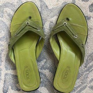 Tods flip flops